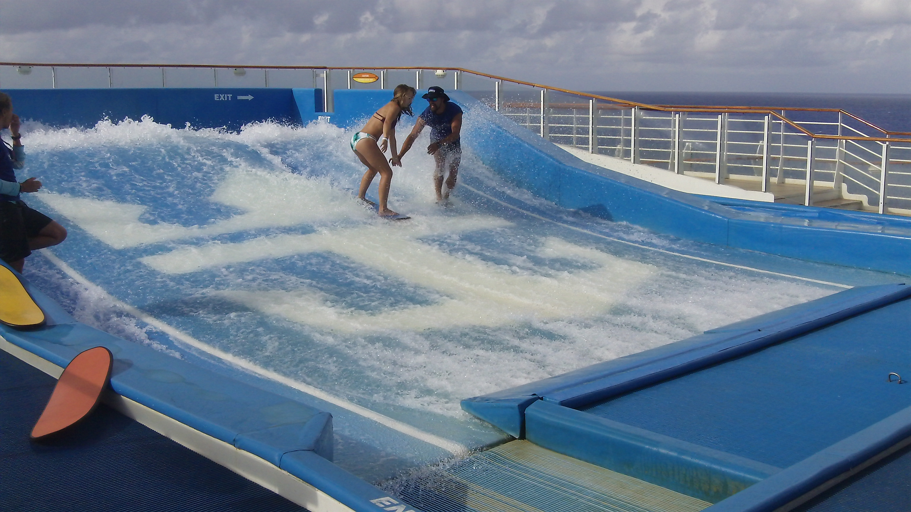 Flow Rider. Allure of the Seas. Click to view larger version