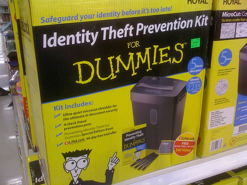 Identity Theft Protection For Dummies