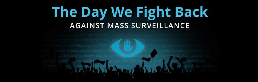 The Day We Fight Back. Reform the NSA
