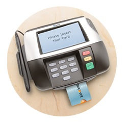 Discover chip card and new terminal