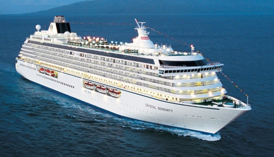 Image of Crystal Serenity cruise ship