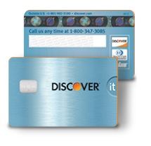 Discover chip credit card
