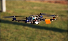 Image of drone. Click to view larger version