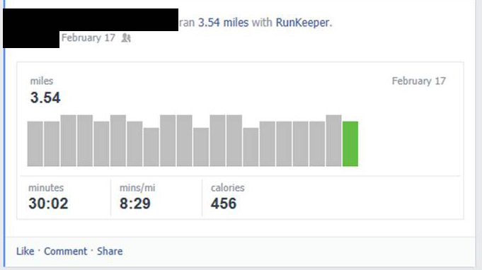Fitness tracking with the RunKeeper app