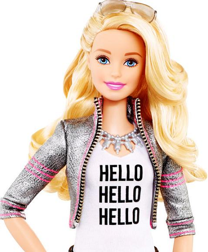 Image of the upcoming Hello Barbie doll. Click to view larger image