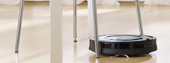 iRobot Roomba autonomous vacuum. Click to view larger image