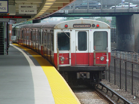 Savin Hill Station on the Red Line. circa 2006