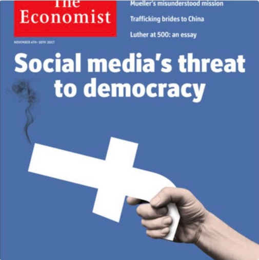 November 4th cover of The Economist magazine